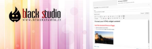 Black Studio TinyMCE Widget wordpress plugin Download