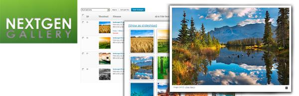 NextGEN Gallery wordpress plugin Download