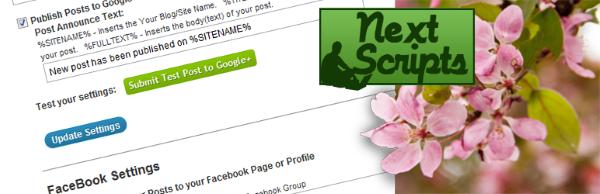 NextScripts: Social Networks Auto-Poster wordpress plugin Download