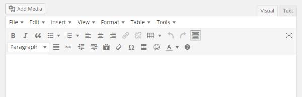 TinyMCE Advanced wordpress plugin Download