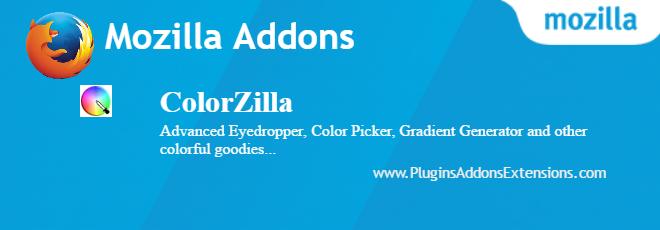 ColorZilla Mozilla plugin
