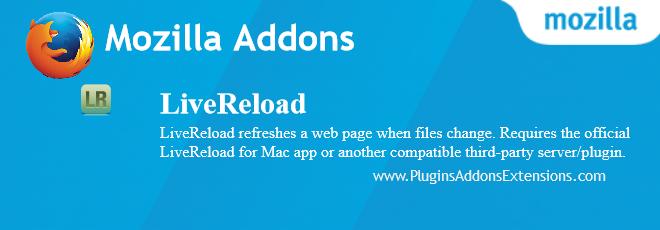 LiveReload Mozilla plugin