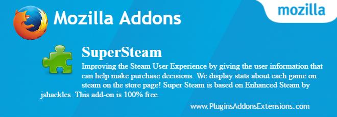 SuperSteam Mozilla plugin