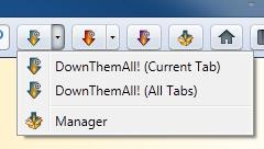 Toolbar buttons (Windows)