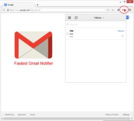 Fastest Gmail Notifier (restartless)