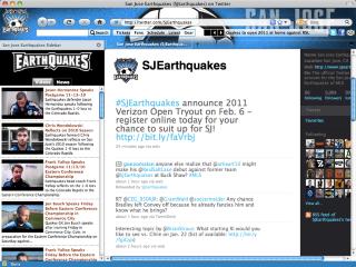MLS San Jose Earthquakes Soccer Interactive Theme- , Mozilla Addon download