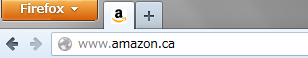 Open Amazon.ca in a new tab with toolbar button- , Mozilla Addon download