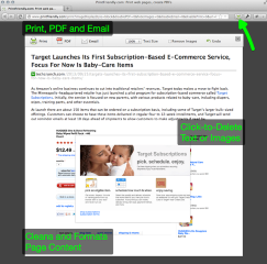 Print Friendly & PDF- , Mozilla Addon download