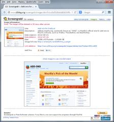 Screengrab (fix version)- Screengrab upload to s3blog.org, Mozilla Addon download