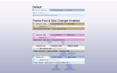 Theme Font & Size Changer- , Mozilla Addon download