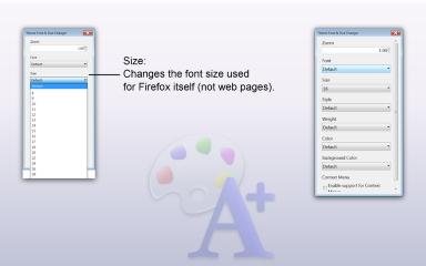 Theme Font & Size Changer- Font Size, Mozilla Addon download