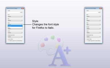 Theme Font & Size Changer- Font Style, Mozilla Addon download