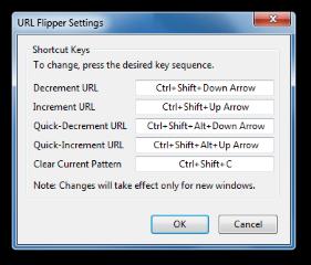 URL Flipper- You can customize URL Flipper's keyboard shortcuts., Mozilla Addon download