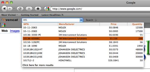 Verical Marketplace Toolbar- , Mozilla Addon download