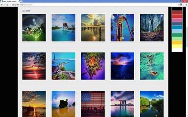 Color Change for Instagram chrome extension